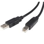 Startech USB 2.0 USB A-B m-m - Cable de datos