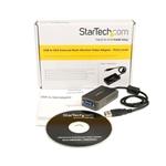 Startech Adaptador de video externo USB - VGA - Adaptador