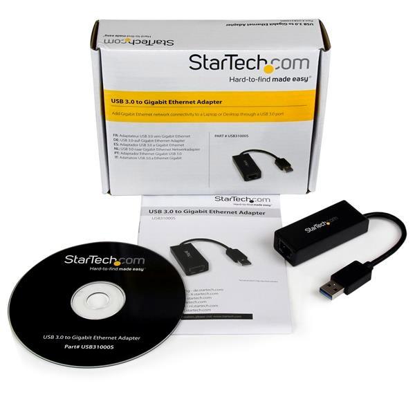 Startech RJ45 Gigabit a USB 3.0 - Tarjeta de red