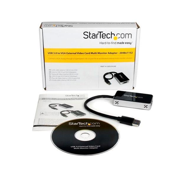 StarTechcom Cable Adaptador de Vídeo VGA USB 30