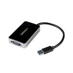 StarTech.com Adaptador de Vídeo Externo USB 3.0 a VGA con Hu