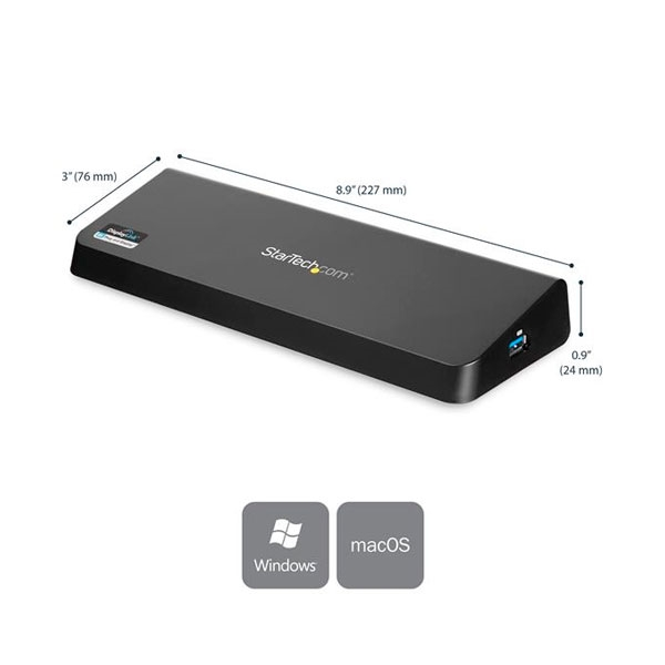 StarTechcom Replicador de Puertos Universal USB 30 para Or