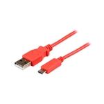 StarTech.com Cable Micro USB Rosado de 1m