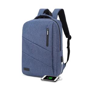 Subblim City Backpack para Portátiles hasta 156 Puerto USB Azul  Mochila