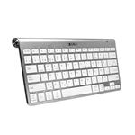 Subblim Wireless Bluetooth Pure Compact Silver  Teclado