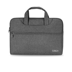 Subblim Business Laptop Sleeve para Portátiles hasta 156 Cinta para Trolley Gris  Maletín