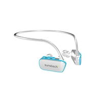 Sunstech Argos sumergible MP3 8GB blanco azul - Auriculares