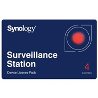 Synology Camera License Pack  Licencia Estándar 4 cámaras
