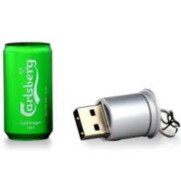 TECH1TECH Lata Cerveza 16GB USB2  PenDrive