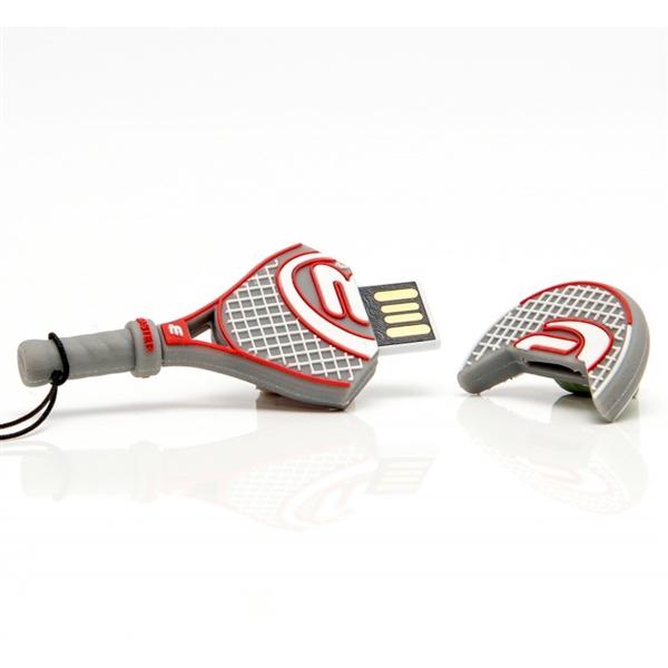 TECH1TECH Raqueta de Tenis 16GB USB2  PenDrive