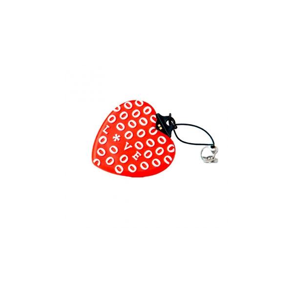 TECH1TECH Corazón Rojo 16GB USB2 – PenDrive