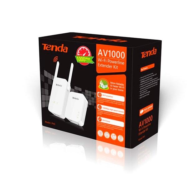 Tenda PH5 powerline con wifi AV1000 + N300 - PLC