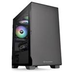 Thermaltake S100 TG negro mATX  Caja