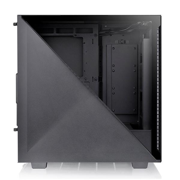 Thermaltake Divider 300 TG Cristal Templado USB 30  Caja
