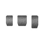 Thrustmaster TLCM Rubber Grip  Cubiertas para pedales