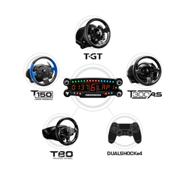 Thrustmaster Display Gaming Add-on LED BT PS4 - Acc Volante