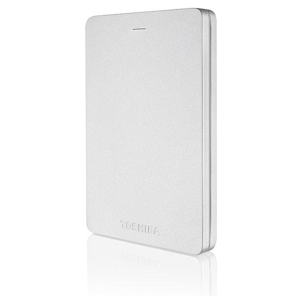 Toshiba Canvio Alu 25 500GB USB Plata  Disco Duro Externo