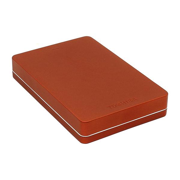 Toshiba Canvio Alu 2.5″ 2TB USB Rojo – Disco Duro Externo