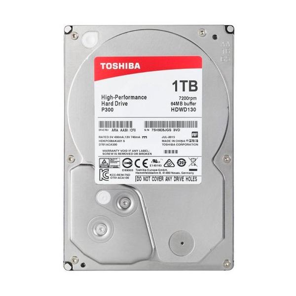"Toshiba P300 High-Performance 1TB 3.5"" SATA - Disco Duro"