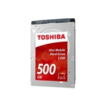 Toshiba L200 Slim Mobile 25 SATA 500GB 7mm  Disco Duro