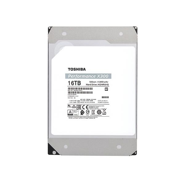 Toshiba X300 High Performance 16TB SATA 35    Disco Duro