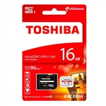 Toshiba Exceria 16GB 48MBs cadap  Tarjeta MicroSD