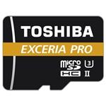Toshiba Exceria Pro 32GB 270MB/s c/adap - Tarjeta MicroSD