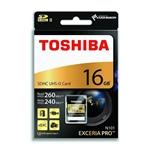 Toshiba Exceria Pro 16GB 270MB/s – Tarjeta SD