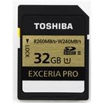 Toshiba Exceria Pro 32GB 270MB/s – Tarjeta SD