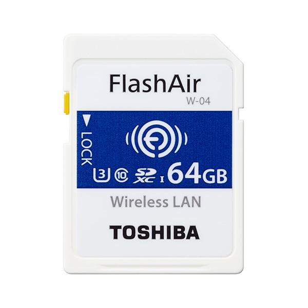Toshiba FlashAir W04 64GB 90MBs WIFI  Tarjeta SD