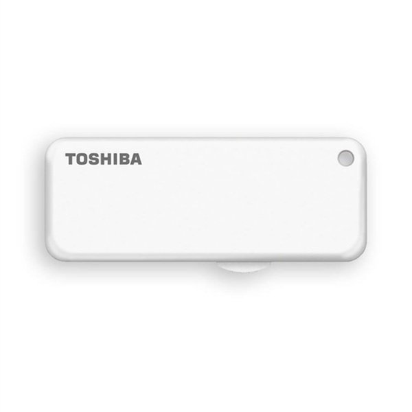 Toshiba TransMemory U203 128GB Blanco  PenDrive