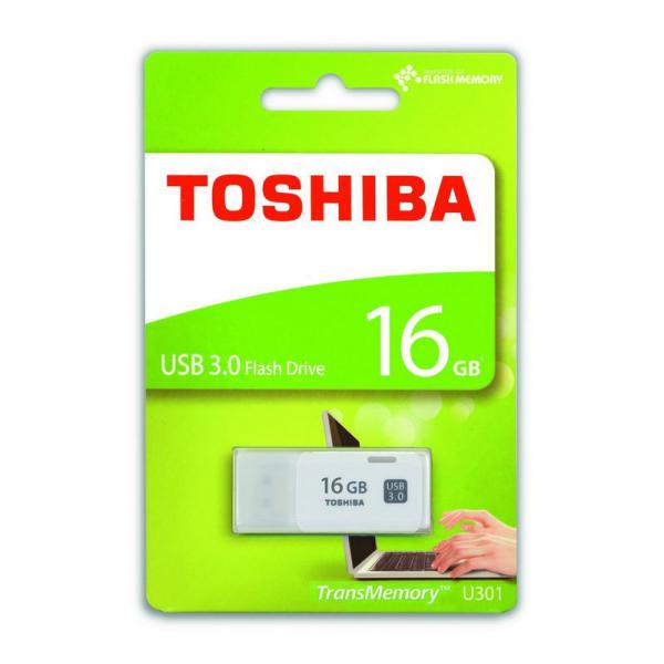 Toshiba TransMemory U301 USB 3.0 16GB blanca – Pendrive