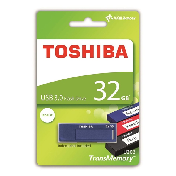 Toshiba TransMemory U302 USB 3.0 32GB Azul – PenDrive