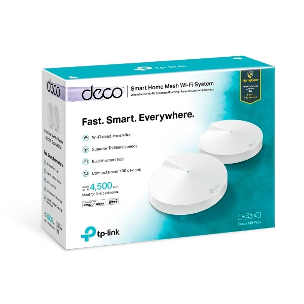 TP-LINK Deco M9 AC2200 pack 2  - Repetidor