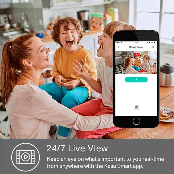 TPLink Kasa Spot KC100  Cámara de videovigilancia IP