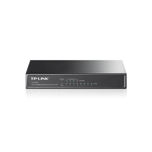 TP-Link TL-SF1008P 4 Puertos + 4 Puertos POE 10/100 - Switch