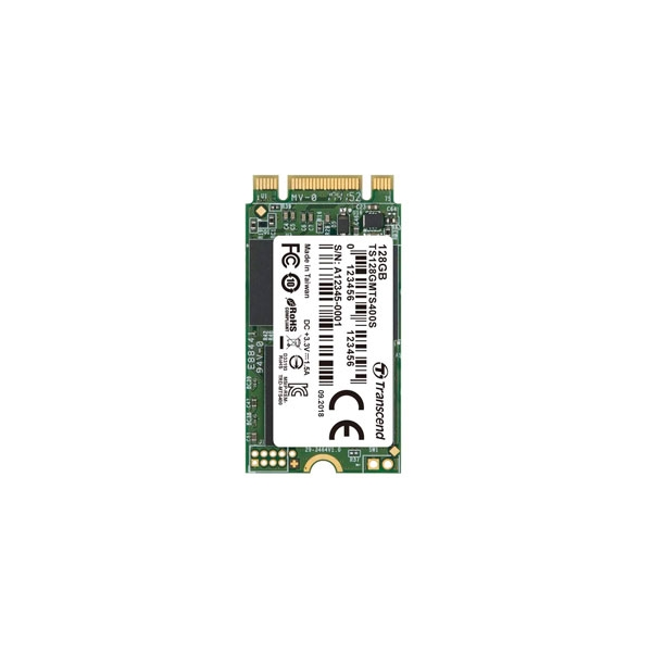 Transcend 400S 128GB M2 SATA 2242  Disco Duro SSD