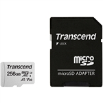Transcend 300S 256GB CL10 UHS-3 c/adaptador - Micro SD