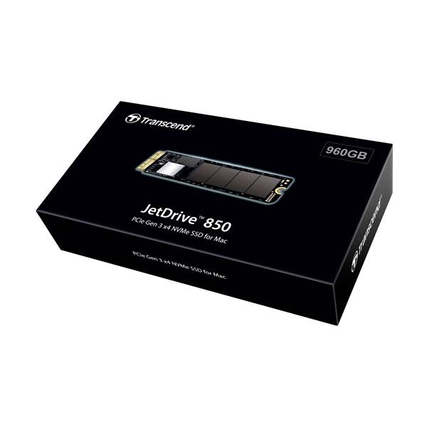 JetDrive 850 960GB PCIe Gen3 para varios Mac  SSD