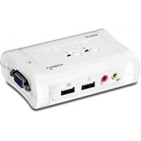 Trendnet TK 209K 2 Puertos USB + audio – KVM