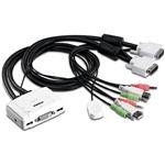 Trendnet TK214i 2 PC DVI USB  Audio  KVM