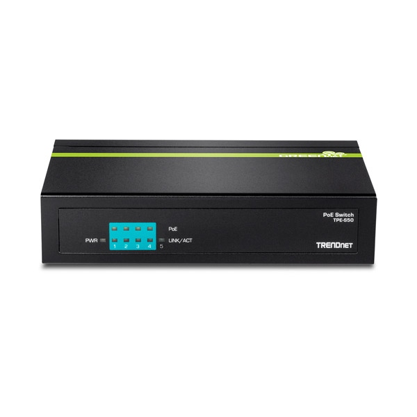Trendnet TPE-S50v2 6 Puertos PoE+ 10/100 - Switch