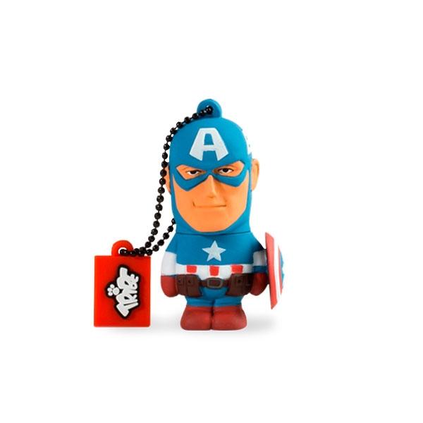 TRIBE 16GB Capitán América USB 2.0 Marvel - PenDrive