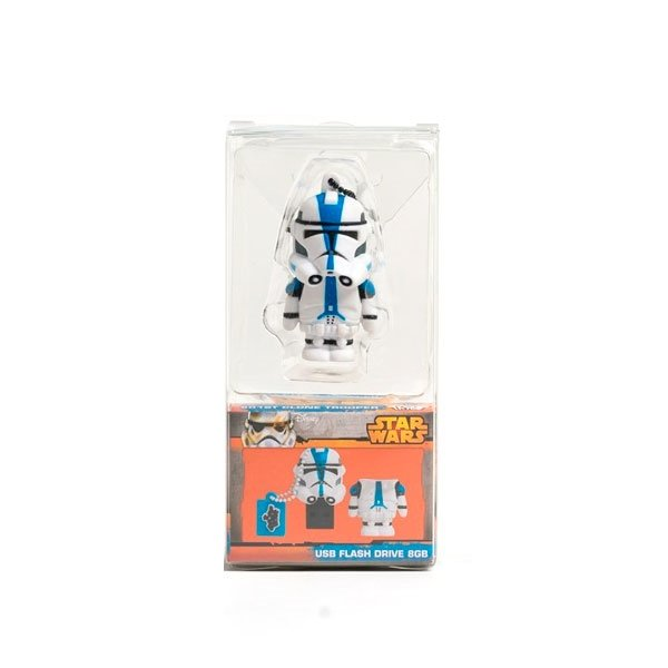 TRIBE Star Wars Soldado 501ST Clone Trooper 16GB - PenDrive