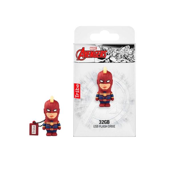 TRIBE Marvel Capitana Marvel 32GB - PenDrive
