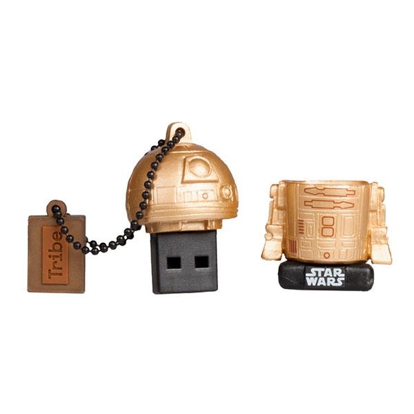 TRIBE 16GB R2D2 Gold USB 20 Star Wars TLJ  PenDrive