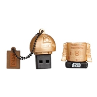TRIBE 16GB R2D2 Gold USB 2.0 Star Wars TLJ – PenDrive