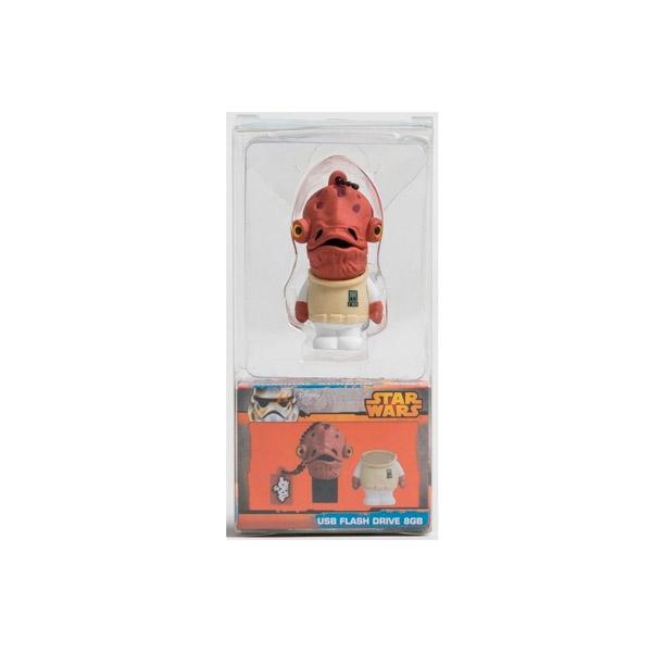 TRIBE 8GB Gial Ackbar USB 20 Star Wars  PenDrive