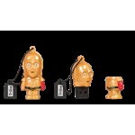 TRIBE 16GB C-3PO (Brazo rojo) USB 2.0 Star Wars  – PenDrive