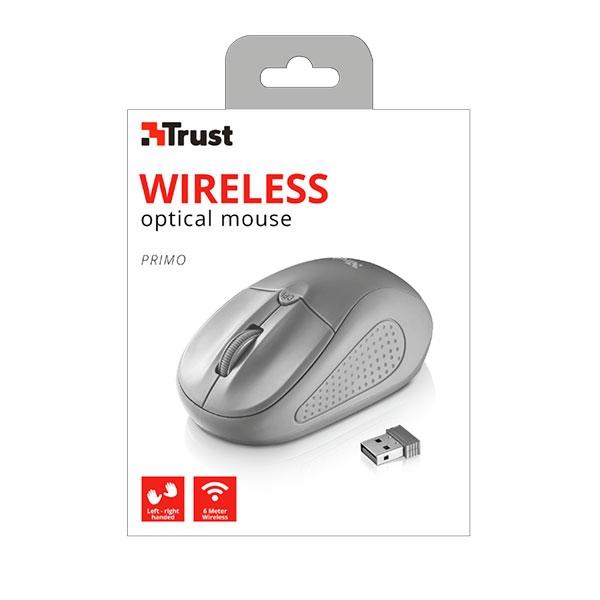 Trust Primo gris wireless  Ratón